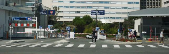 Stationnement hu00f4pital St-Louis : Centre Hospitalier de La Rochelle